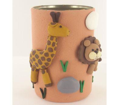 Sculpey Air-Dry™ Jungle Air Dry Pencil Cup