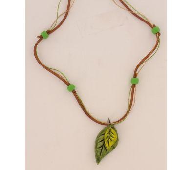 Sculpey Air-Dry™ Leaf Pendant