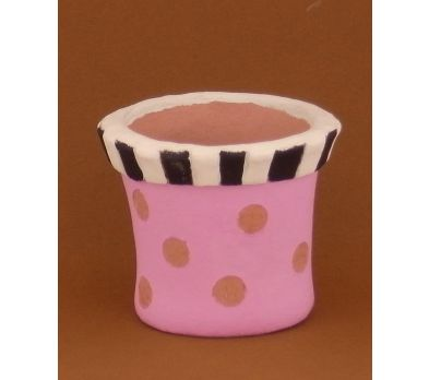Sculpey Air-Dry™ Painted Pot