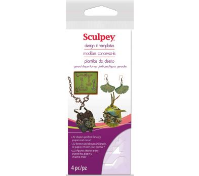Sculpey Design It General Shape Templates