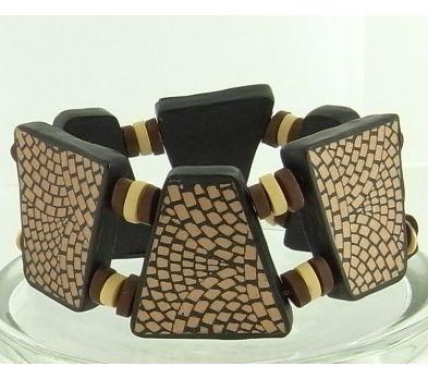 premo! Silk Screened Tile Bracelet