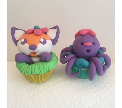 Pluffy Cupcake Critters