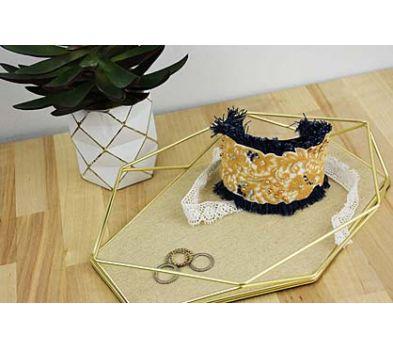 Liquid Sculpey® Denim & Lace Cuff Bracelet