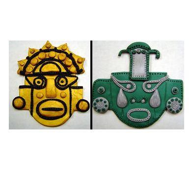 Original Sculpey® Inca Mini Mask
