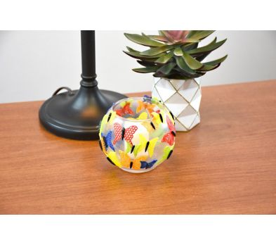 Liquid Sculpey Primary Colors Butterfly Vase