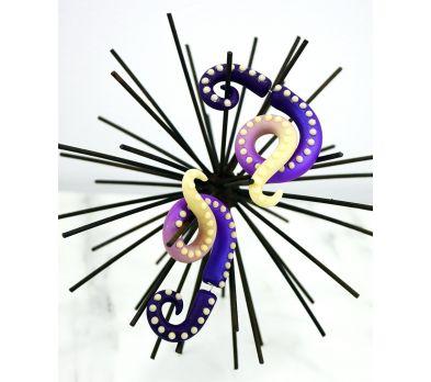 Sculpey Premo™ Glowing Tentacle Earrings