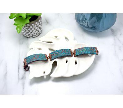 Premo Accents Textured Crimp Bracelet