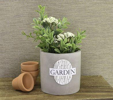 Sculpey Soufflé™ Silkscreened Herb Planter