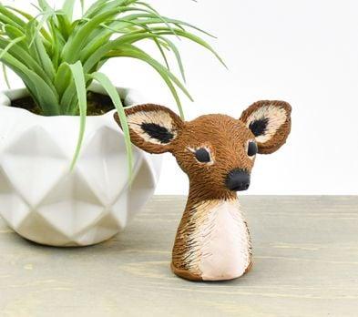 Sculpey® III Little Deer Bust