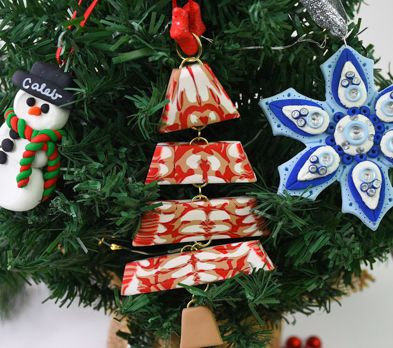 Sculpey III® Stacked Christmas Tree Ornament