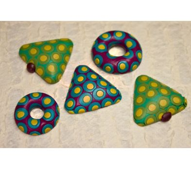 Sculpey Soufflé Crazy for Polka Dots!