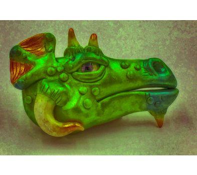 Premo Dragon Head Sculpting