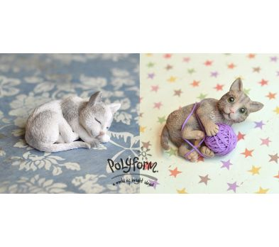 Premo! Cat Sculptures