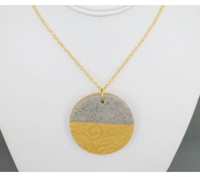 Premo Textured Necklace
