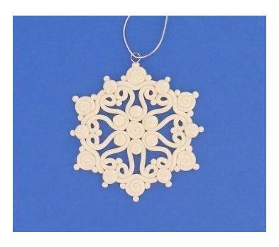 premo! Extruded Snowflake Ornament