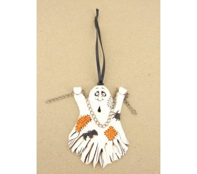 Sculpey® III Ghost Ornament