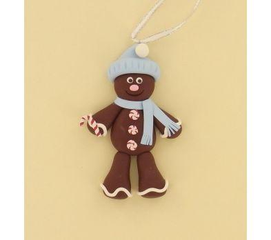 Sculpey® III Gingerbread Man Ornament
