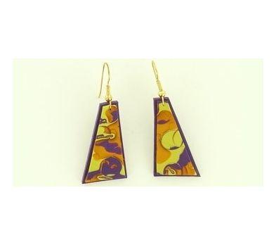 Sculpey Premo™ Mokume Gane Earrings
