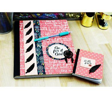 Liquid Sculpey® Embellished Dream Catcher Notebook