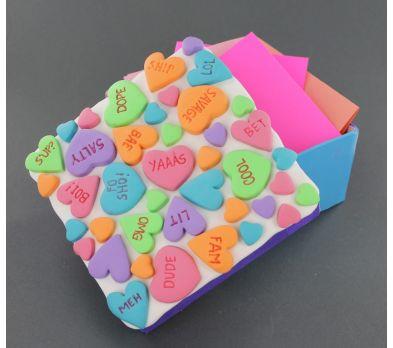 Sculpey Bake Shop Light and Ultralight Valentine Card Box