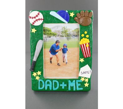 Sculpey III Sports Dad and Me Frame