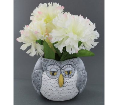 Model Air Air Dry Modeling Clay Owl Planter