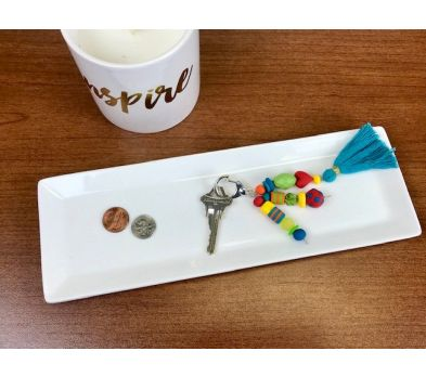 SculpeyIII Beads Key Chain