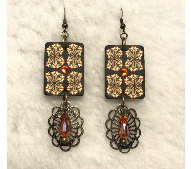 Moroccan-Roll Earrings