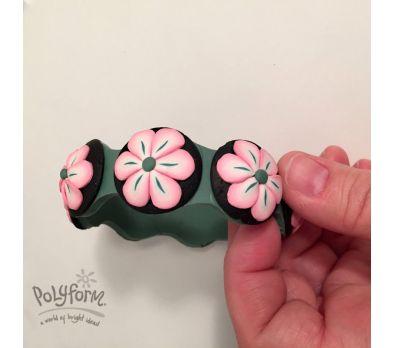 Souffle Flower Bracelet