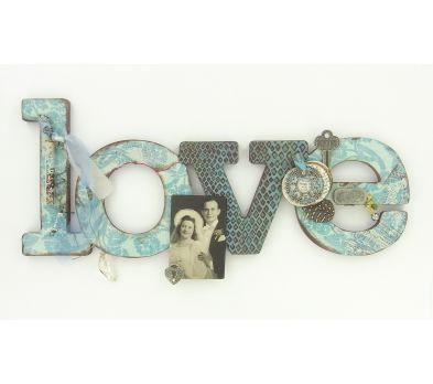 Sculpey Premo™ Antiqued LOVE Sign