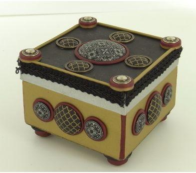 premo! Silkscreened Medieval Box