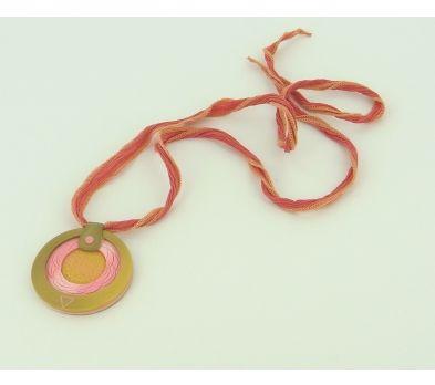 Sculpey® III Multi-Circle Focal Pendant