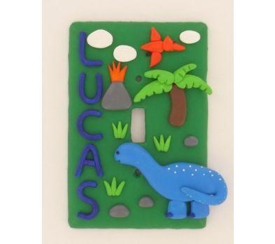 Original Sculpey® Dino Switch Plate Cover