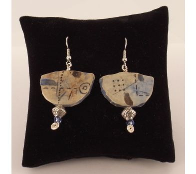 Original Sculpey® Ancient Images Earrings