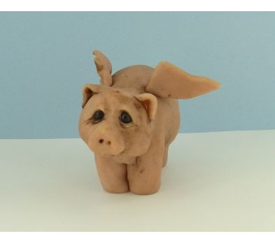Super Sculpey® Pig with Wings