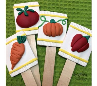 Sculpey Souffle™ Plant Stakes