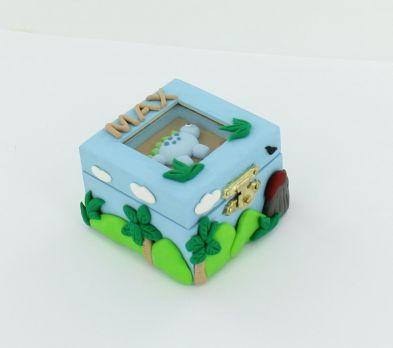 Sculpey® III Dino Treasure Keeper Box
