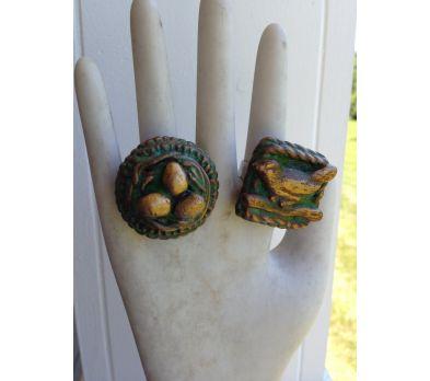 Sculpey Premo™ Relic Ring