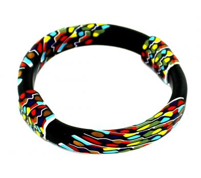premo! Melted Crayon Bangle Bracelet