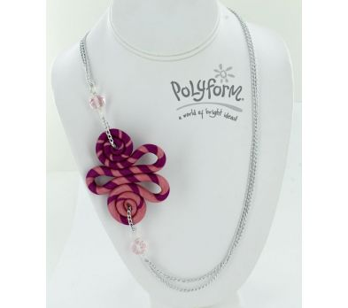 Sculpey® III Stripes and Swirls Necklace