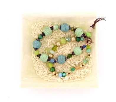 Sculpey® III Rustic Faceted Bead Bracelet
