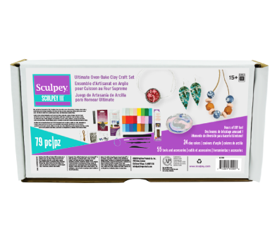 Ultimate Oven Bake Clay Craft Set