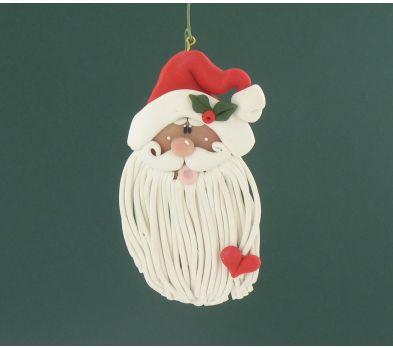 Sculpey® III Long Beard Santa Ornament