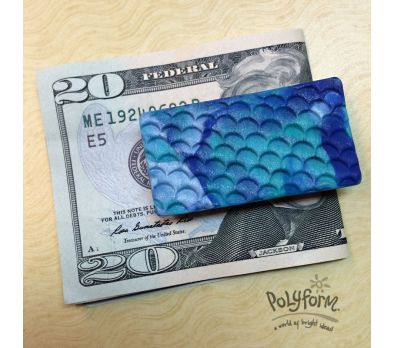 Sculpey® III Happy Father's Day! - Fish Scales Money Clip