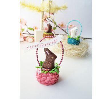 Petite Easter Bunny Basket