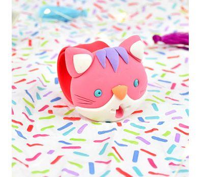 Sculpey Bake Shop Light™ Slap Happy Cat Bracelet