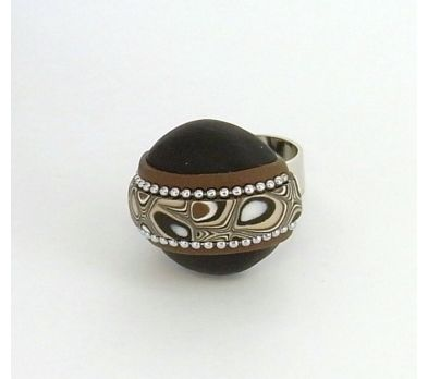 Sculpey Soufflé Rugged Chic Ring