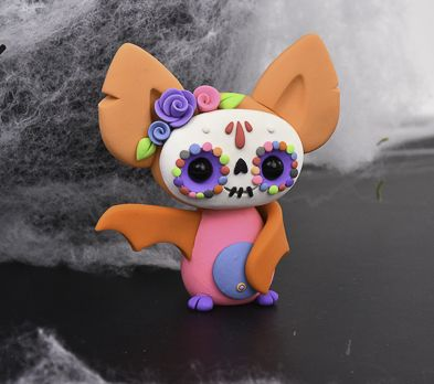 Sculpey III® Sugar Skull Bat