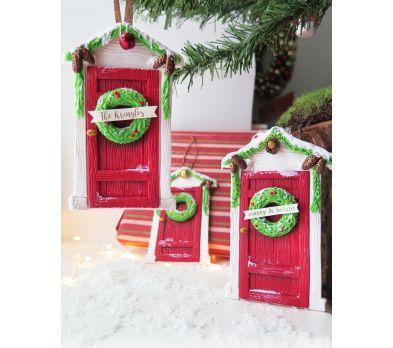 Premo!  Holiday Greeting Door Ornament