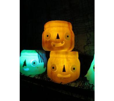 premo Pumpkin Luminary Jar